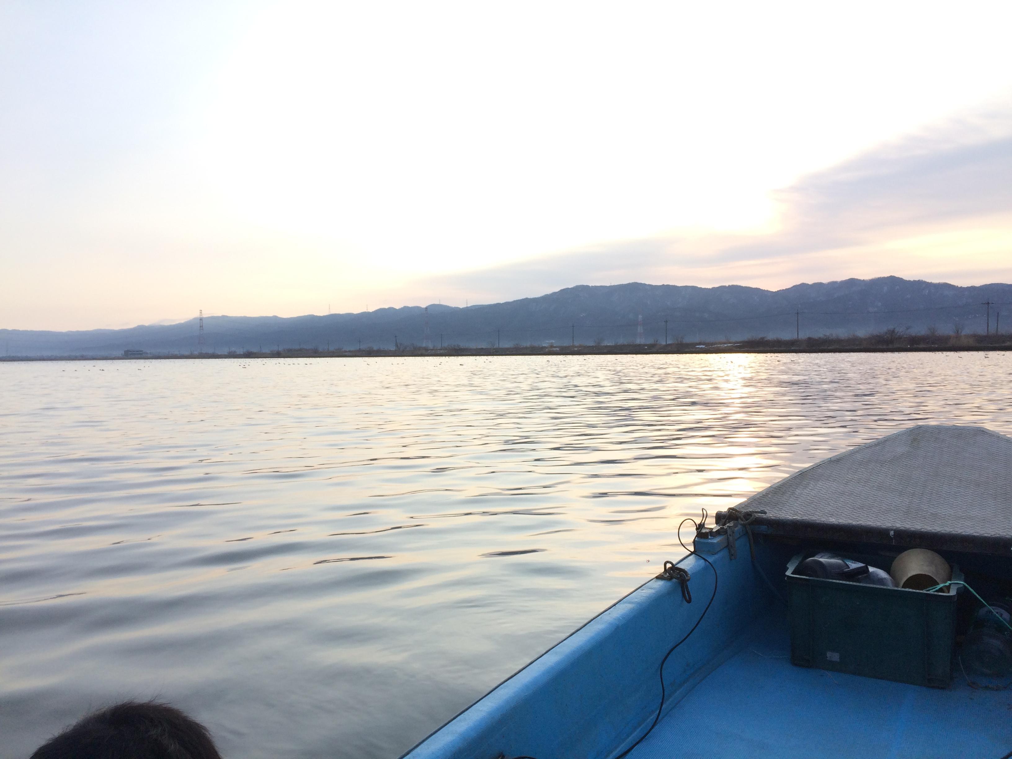 【報告】邑知潟の漁業組合員になりました