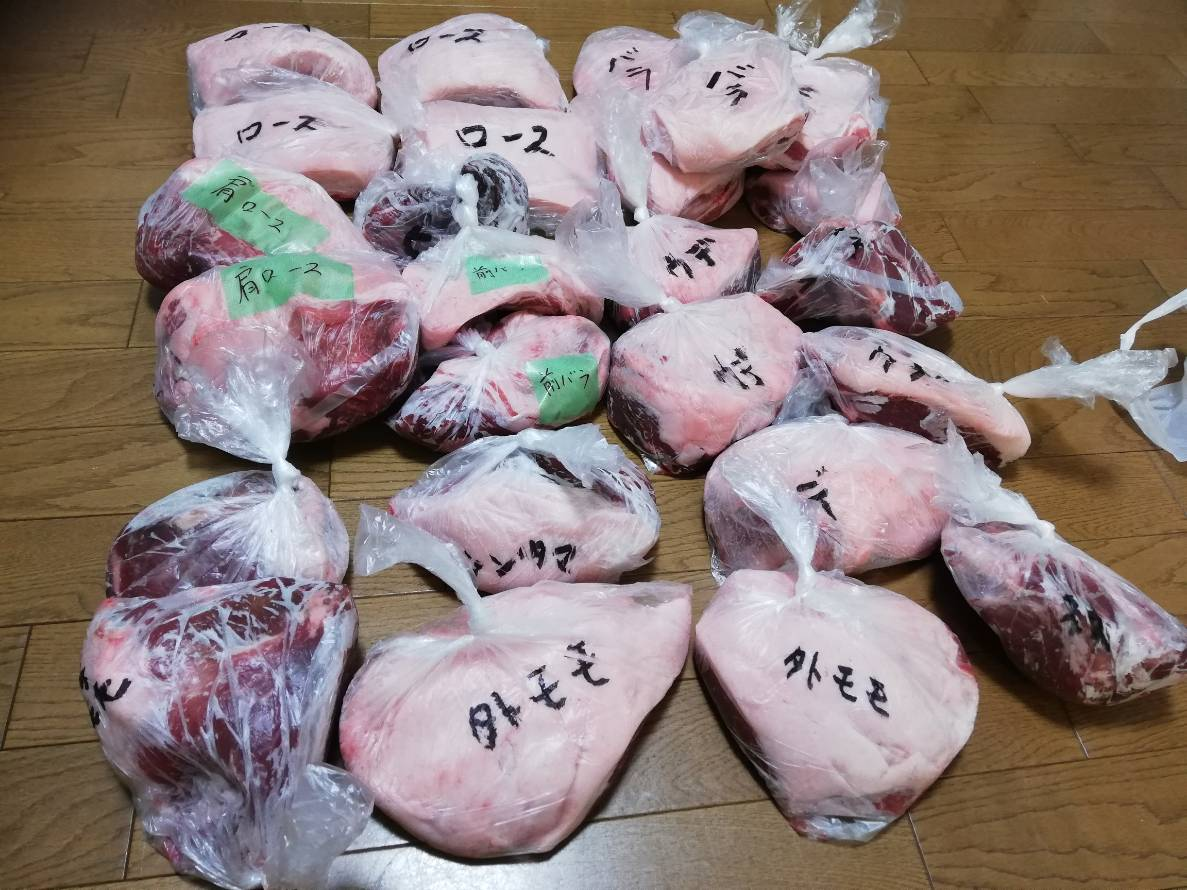 【石川〜富山】プロがイノシシの解体&精肉を承ります(自家消費用)